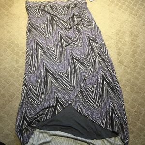 Anthropologie hi low skirt by Maeve